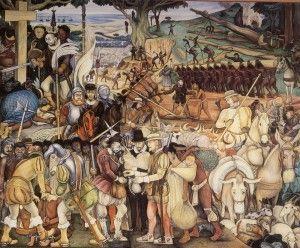 ...los españoles impusieron formas de explotación desconocidas por los pueblos originarios...