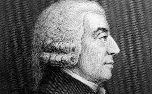 Adam Smith, fundador de la economía clásica, junto con David Ricardo.