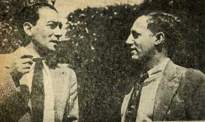 Vicente Lombardo Toledano y Gonzalo Beltrán