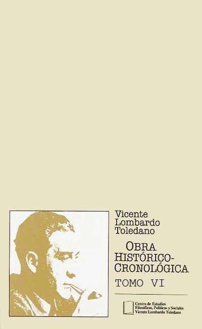 Obra histórico-cronológica, Tomo VI