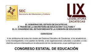 Conv.Cong.EducaciónZacatecas