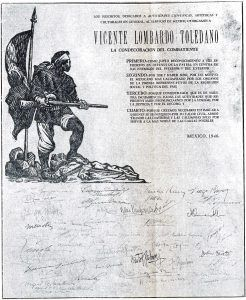 Diploma de la condecoración.
