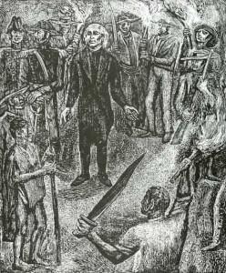 ...la revolución de independencia, encabezada por...  Hidalgo...
