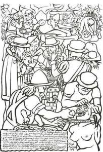 ...los conquistadores fracasaron en su intento de borrar su huella, a pesar de que destruyeron sus ciudades, sus palacios y templos, quemaron sus códices y anatematizaron sus creencias religiosas...