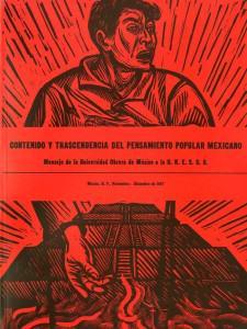 ...sin conocer las formas peculiares del desarrollo histórico de México, es imposible...