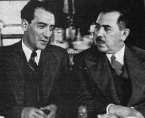 Lombardo Toledano y Lázaro Cárdenas