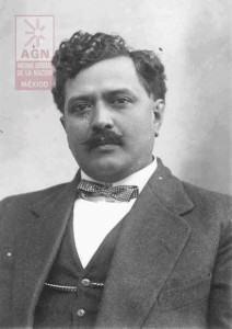 Destacado diputado constituyente de 1916-17. Foto del Archivo General de la Nación.