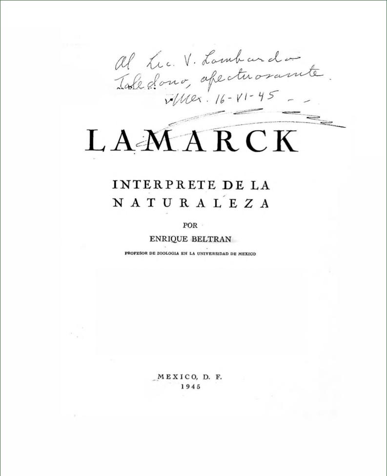 """Obra del acervo histórico """"Dedicatorias a Lombardo Toledano"""". Ubicada en la biblioteca del Centro de Estudios Vicente Lombardo Toledano."""