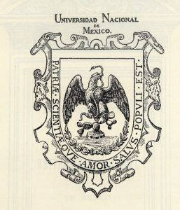 Universidad Nacional de México es el nombre con que se fundó la actual Universidad Nacional Autónoma de México (UNAM)