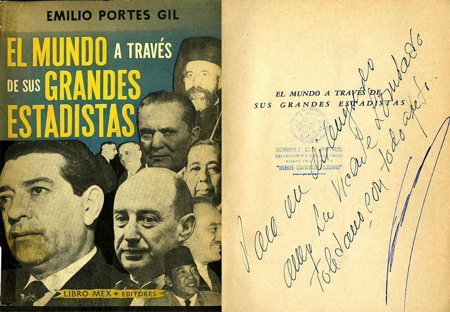 PORTES Gil, Emilio. El mundo a través de sus grandes estadísticas. México: Libro Mex, 1960.