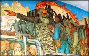 """""""La historia de todas las sociedades existentes hasta ahora es la historia de la lucha de clases"""", Marx, Engels, El Manifiesto comunista."""