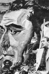 Fotografía de la campaña presidencial de 1952.