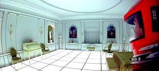 Imagen del cuarto de la ilustración de 2001: una odisea del espacio