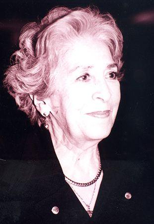 Retrato fotográfico de la Matra. Marcela Lombardo Otero