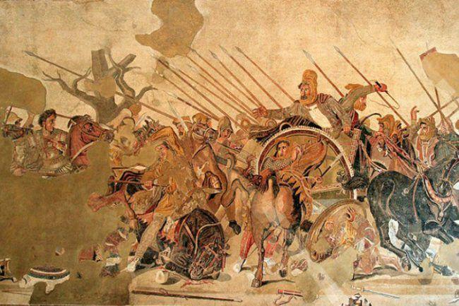 mosaico de Alejandro Magno