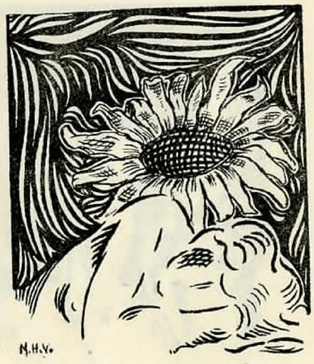 imagen de mujer y flor en llanto por la vida transitoria