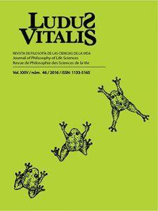 Portada de la revista Ludus Vitalis