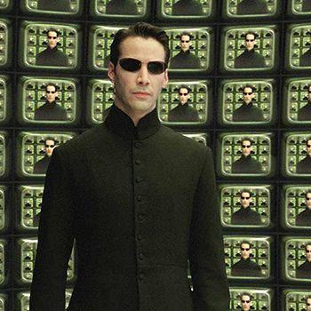 Neo en la sala del Arquitecto