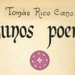 Fragmento de la portada del libro Algunos poemas