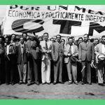 Detalle del libro sobre el movimiento sindical mexicano