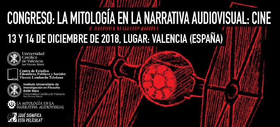 portada congreso La Mitología en la Narrativa Audiovisual