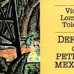 """Detalle del libro """"defensa del petróleo mexicano"""""""