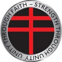 Logo de La cruz del Partido Fuego Nórdico
