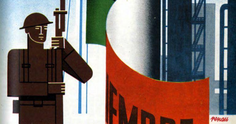 Ilustración de Josep Renau para el número 194 de la revista Futuro
