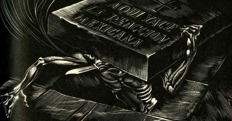 Ilustración Josep Renau en la revista Futuro número 108