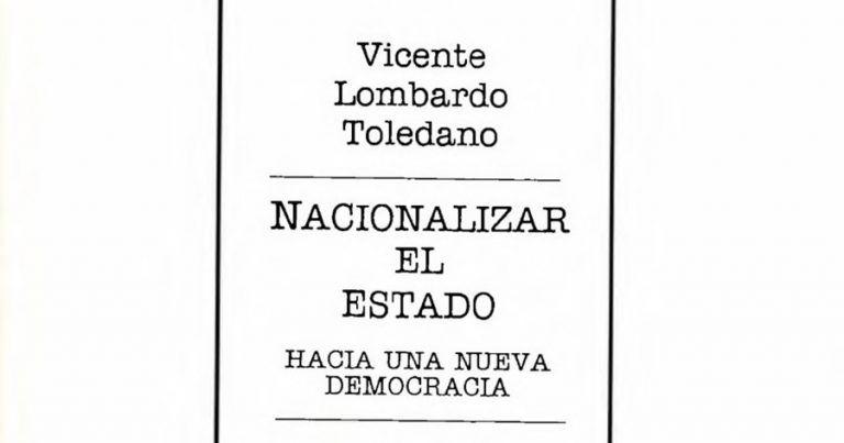Detalle Nacionalizar el Estado