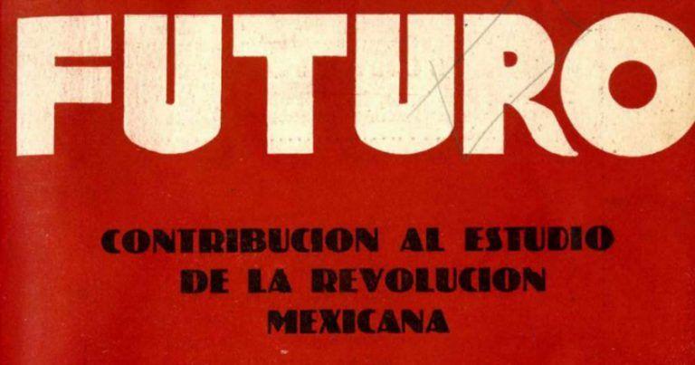"""Portada de la revista Futuro """"Revolución Mexicana"""""""