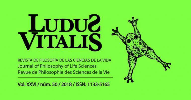 detalle del Número 50 de la revista científica Ludus Vitalis