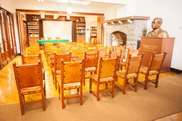 Salón de conferencias del Centro Lombardo