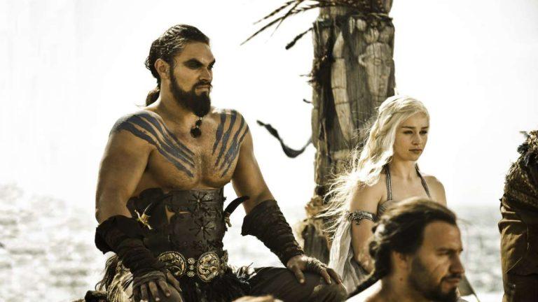 Drogo y Daenerys
