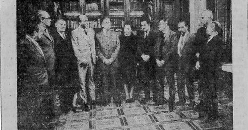 Foto del decreto presindencial