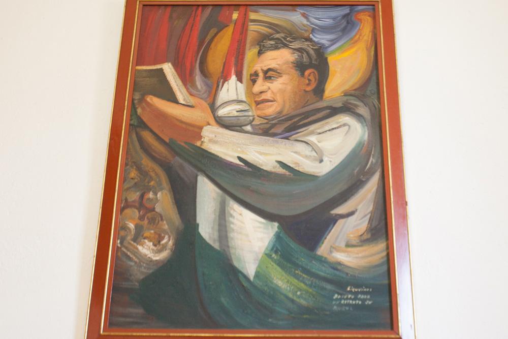 Biblioteca Patrimonio Centro Lombardo, Cuadro Siqueiros