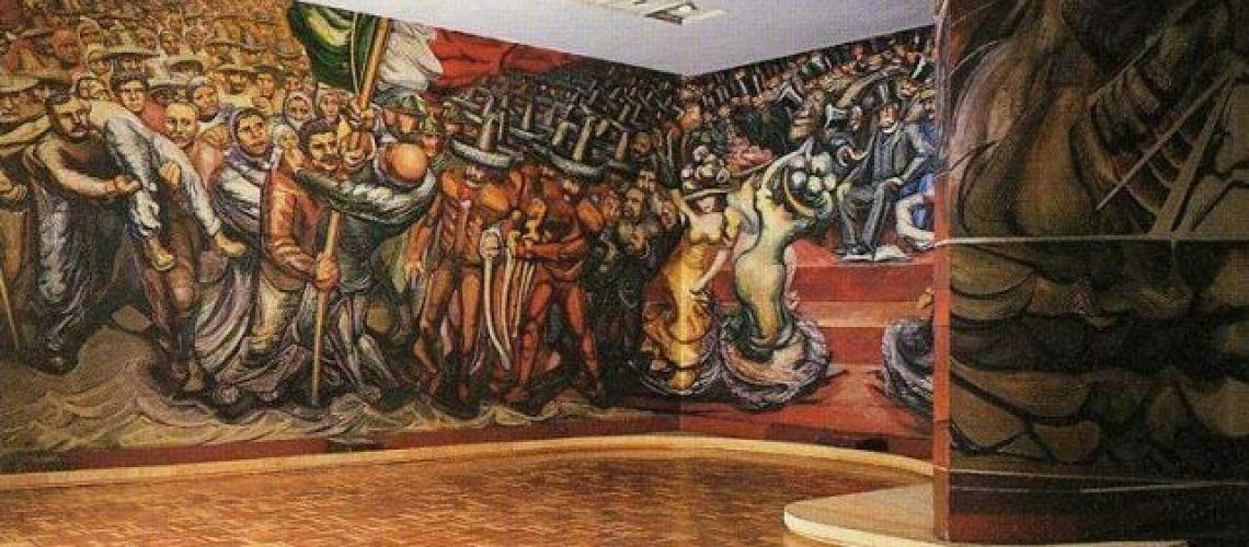 El sindicalismo y las luchas obreras reflejadas por el arte revolucionario.