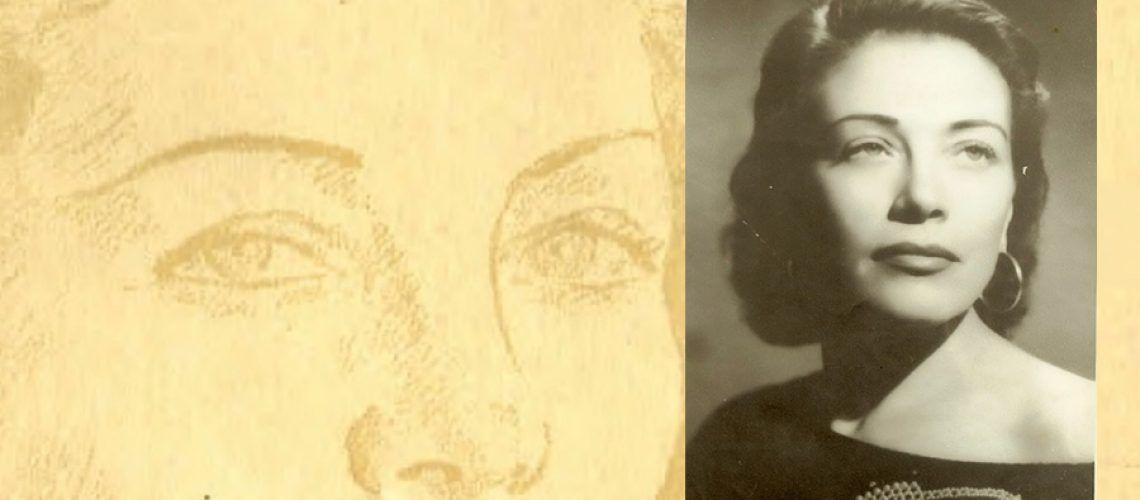 Composición del retrato de Margarita Paz Paredes
