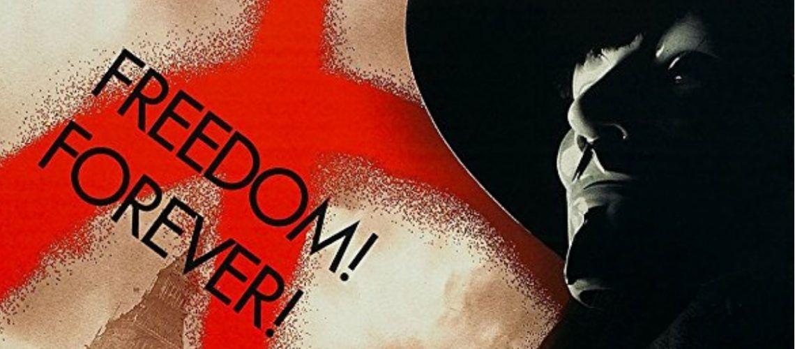 Imagen del cartel de V de Vendetta
