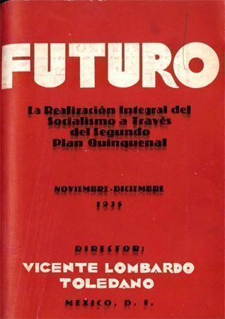 Portada del libro: Revista Futuro. La realización integral del socialismo a través del Segundo Plan Quincenal.