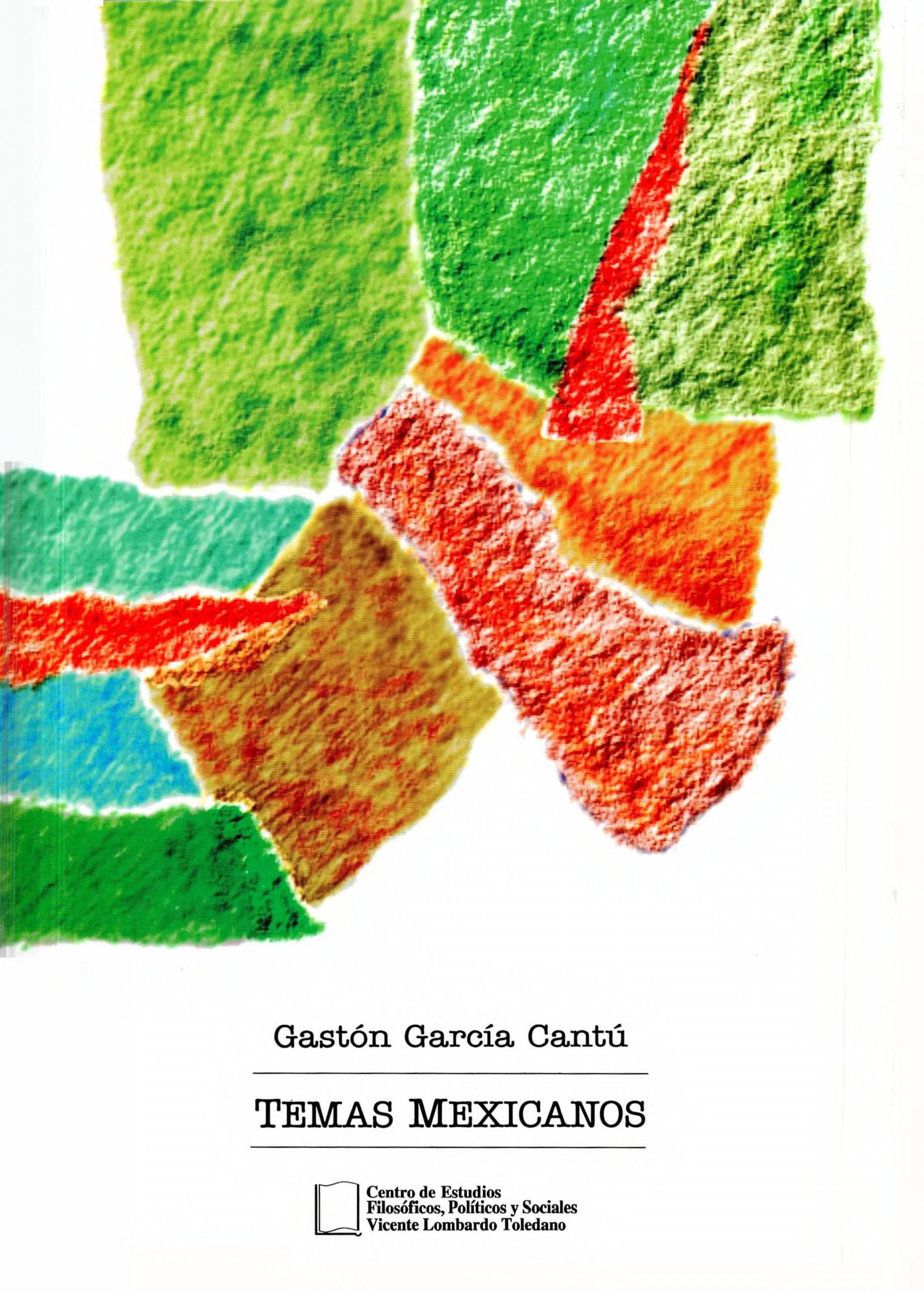 Portada del libro: TEMAS MEXICANOS