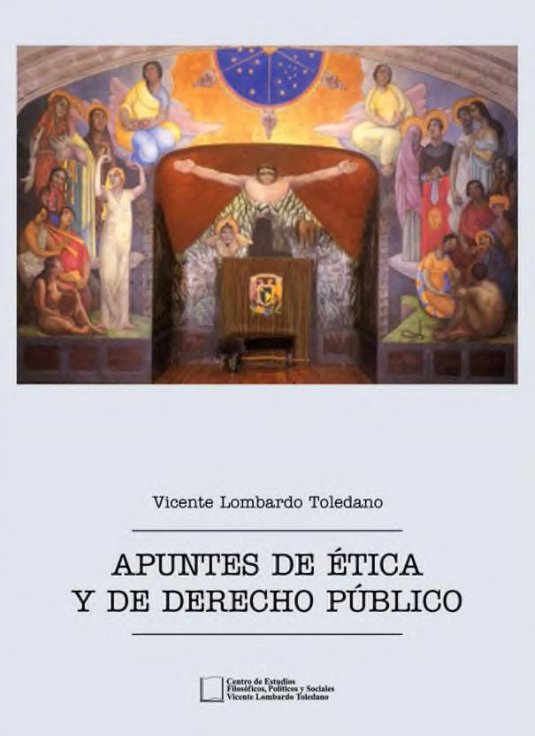 Portada del libro: Apuntes de ética y de derecho público