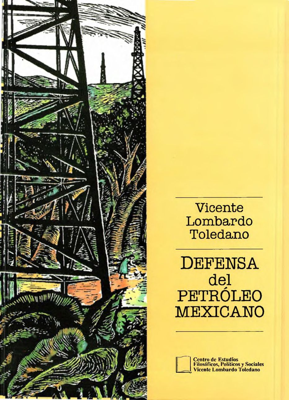 Portada del libro: DEFENSA DEL PETRÓLEO MEXICANO