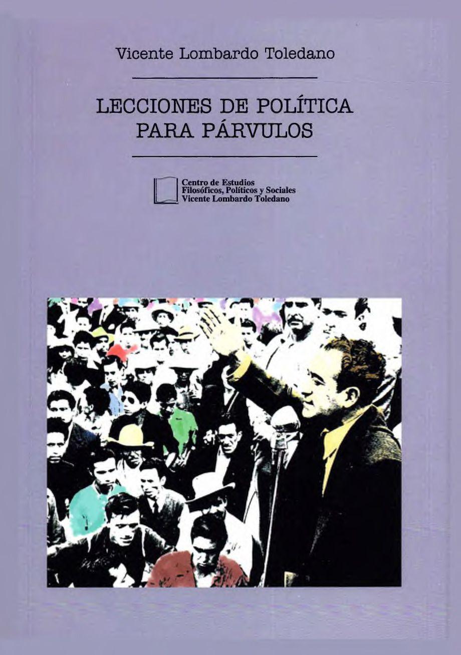 Portada del libro: LECCIONES DE POLÍTICA PARA PÁRVULOS