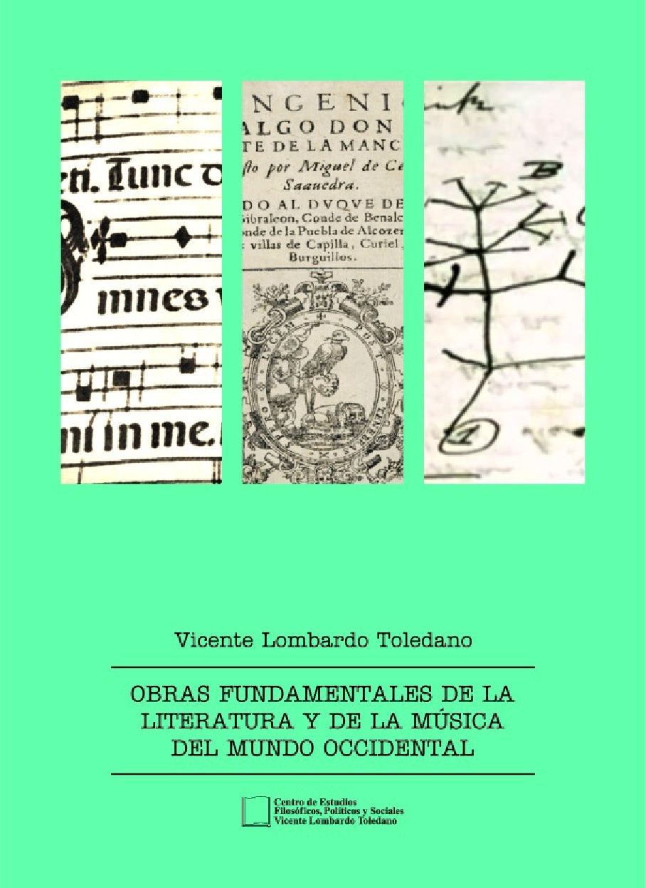 Portada del libro: OBRAS FUNDAMENTALES DE LA LITERATURA Y DE LA MÚSICA DEL MUNDO OCCIDENTAL