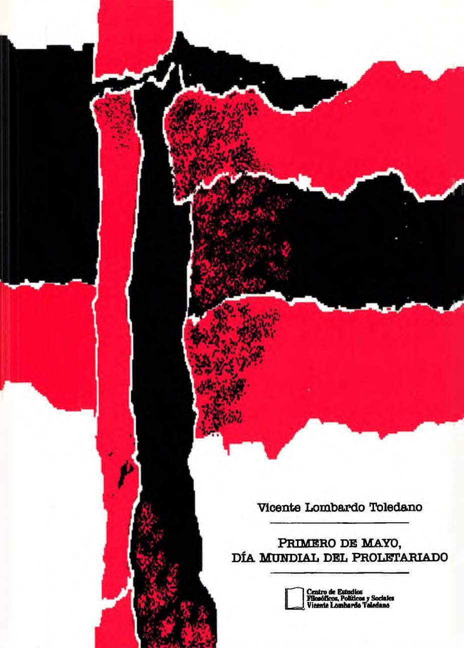 Portada del libro: Primero de Mayo, Día Mundial del Proletariado