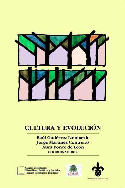 Portada del libro: Cultura y evolución