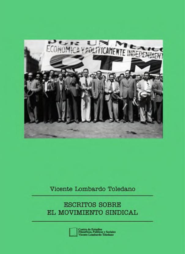 Portada del libro: Escritos sobre el movimiento sindical