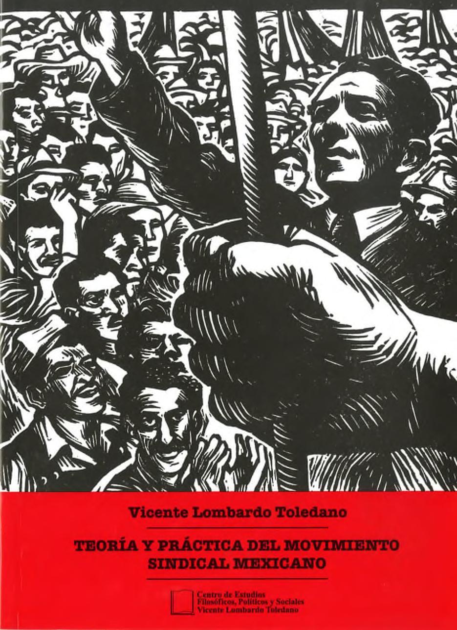 Portada del libro: TEORÍA Y PRÁCTICA DEL MOVIMIENTO SINDICAL MEXICANO