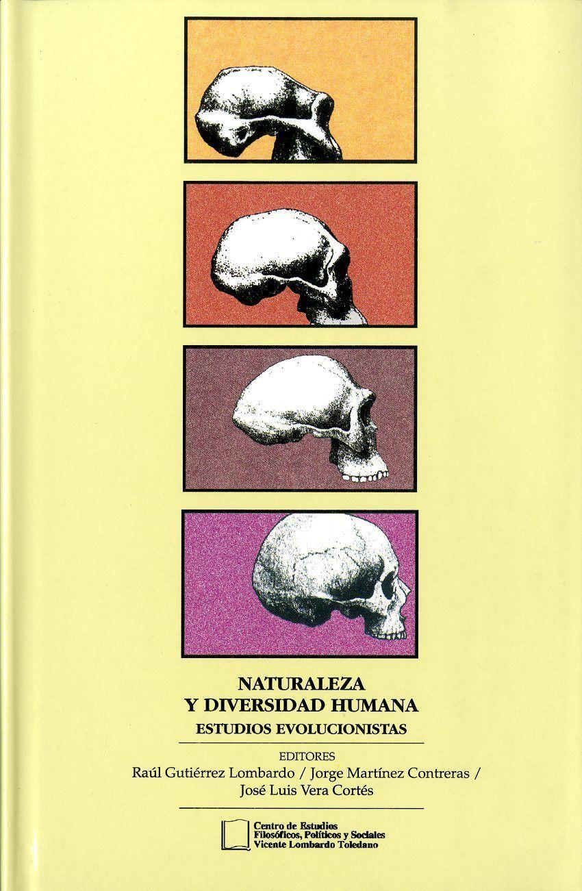 Portada del libro: Naturaleza y diversidad humana: estudios evolucionistas